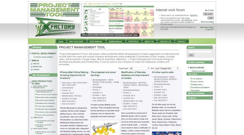 Project Management Tool image link