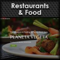 Main menu Website Template Restaurants and Food